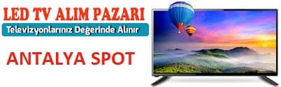 Antalya televizyon alan yerler