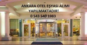Ankara otel eşyası alanlar