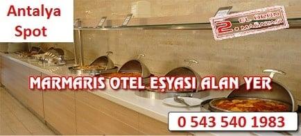 Marmaris otel eşyası alanlar